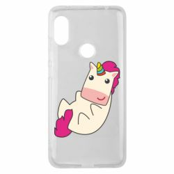 Чехол для Xiaomi Redmi Note 6 Pro Little cute unicorn
