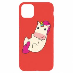 Чехол для iPhone 11 Little cute unicorn
