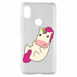 Чехол для Xiaomi Redmi S2 Little cute unicorn