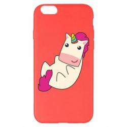 Чехол для iPhone 6 Plus/6S Plus Little cute unicorn