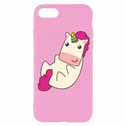Чехол для iPhone 7 Little cute unicorn