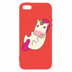 Чехол для iPhone5/5S/SE Little cute unicorn