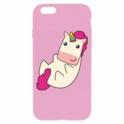 Чехол для iPhone 6/6S Little cute unicorn