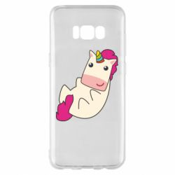 Чехол для Samsung S8+ Little cute unicorn