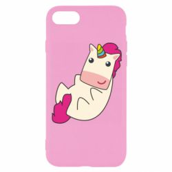 Чехол для iPhone 8 Little cute unicorn