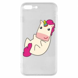Чехол для iPhone 8 Plus Little cute unicorn