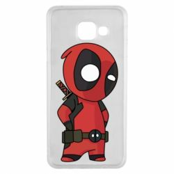 Чохол для Samsung A3 2016 Little Deadpool