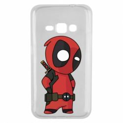 Чохол для Samsung J1 2016 Little Deadpool