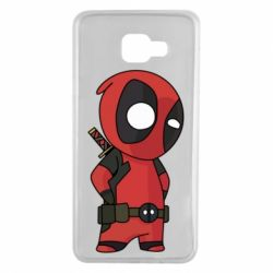 Чохол для Samsung A7 2016 Little Deadpool