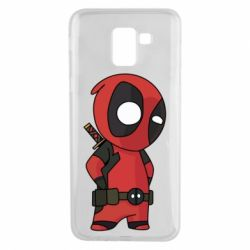 Чохол для Samsung J6 Little Deadpool