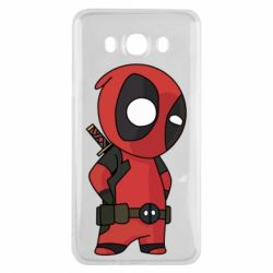 Чохол для Samsung J7 2016 Little Deadpool