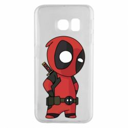 Чохол для Samsung S6 EDGE Little Deadpool