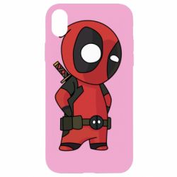 Чохол для iPhone XR Little Deadpool