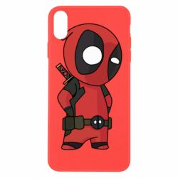 Чохол для iPhone Xs Max Little Deadpool