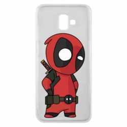 Чохол для Samsung J6 Plus 2018 Little Deadpool