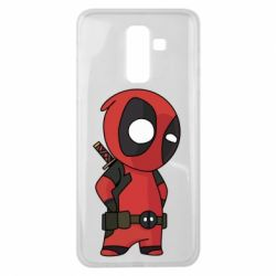 Чохол для Samsung J8 2018 Little Deadpool