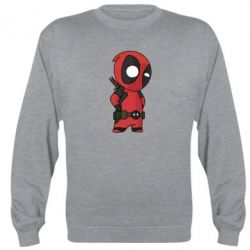 Реглан (свитшот) Little Deadpool - FatLine