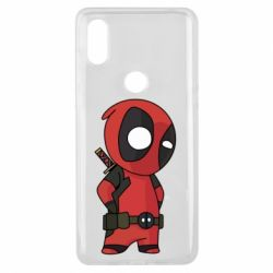 Чохол для Xiaomi Mi Mix 3 Little Deadpool