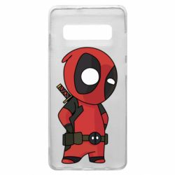 Чохол для Samsung S10+ Little Deadpool