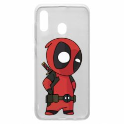 Чохол для Samsung A20 Little Deadpool