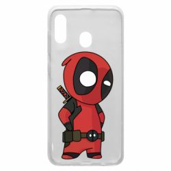 Чохол для Samsung A30 Little Deadpool