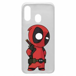 Чохол для Samsung A40 Little Deadpool
