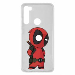 Чохол для Xiaomi Redmi Note 8 Little Deadpool