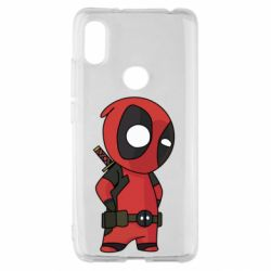 Чохол для Xiaomi Redmi S2 Little Deadpool