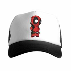 Кепка-тракер Little Deadpool - FatLine