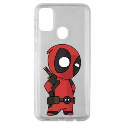 Чохол для Samsung M30s Little Deadpool