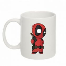 Кружка 320ml Little Deadpool - FatLine