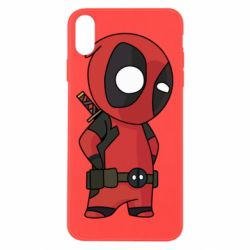 Чохол для iPhone X/Xs Little Deadpool