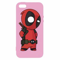 Чохол для iphone 5/5S/SE Little Deadpool