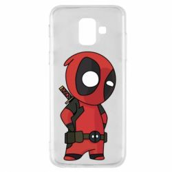 Чохол для Samsung A6 2018 Little Deadpool