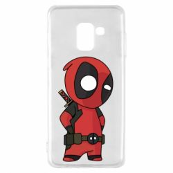 Чохол для Samsung A8 2018 Little Deadpool