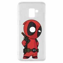 Чохол для Samsung A8+ 2018 Little Deadpool
