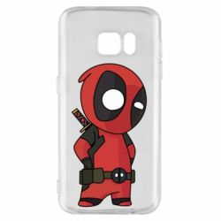 Чохол для Samsung S7 Little Deadpool