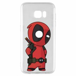 Чохол для Samsung S7 EDGE Little Deadpool