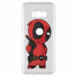 Чохол для Samsung S8+ Little Deadpool