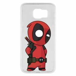 Чохол для Samsung S6 Little Deadpool