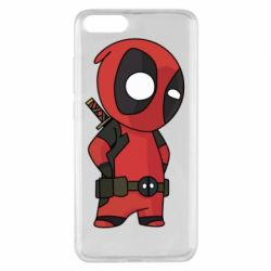 Чохол для Xiaomi Mi Note 3 Little Deadpool
