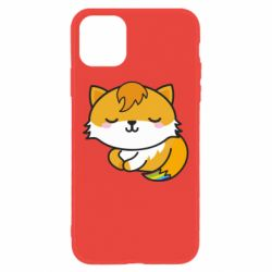Чехол для iPhone 11 Little fox with tail