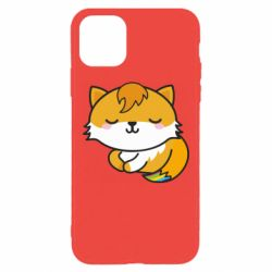 Чехол для iPhone 11 Pro Max Little fox with tail