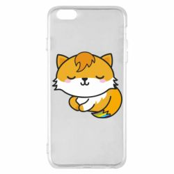 Чехол для iPhone 6 Plus/6S Plus Little fox with tail