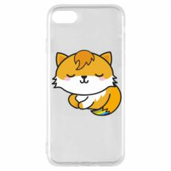 Чехол для iPhone 7 Little fox with tail