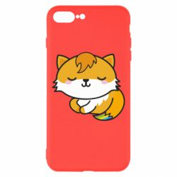 Чехол для iPhone 8 Plus Little fox with tail