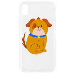 Чехол для iPhone XR Little funny dog