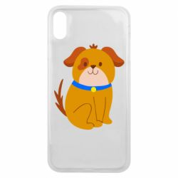 Чехол для iPhone Xs Max Little funny dog