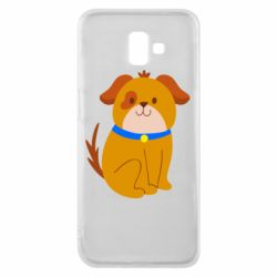 Чехол для Samsung J6 Plus 2018 Little funny dog