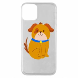 Чехол для iPhone 11 Little funny dog